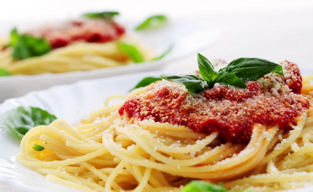 ספגטי עם רוטב עגבניות (צילום: istockphoto ,istockphoto)