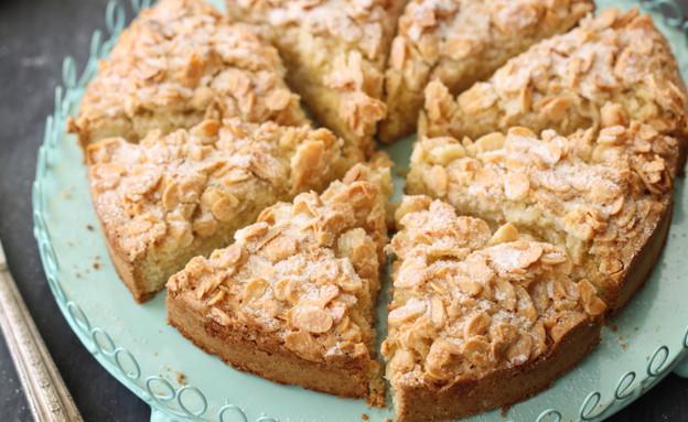 עוגת שקדים וקינמון (צילום: חן שוקרון ,אוכל טוב)