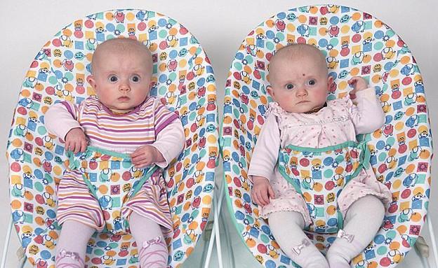 ארבעה דורות של תאומים (צילום: Mailonline)
