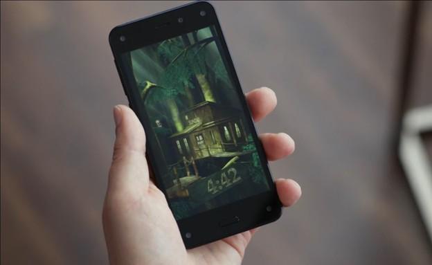 סמארטפון ה-FirePhone של אמזון (צילום: אמזון ,אמזון)