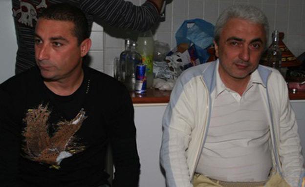 חשודים ששיחדו את חסן. בן זקן ונניקשווילי (צילום: באדיבות ONE)