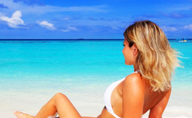 מבקרת חופים, העבודה הכי טובה בעולם (צילום: צילום מסך)