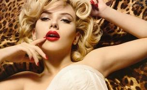 סקרלט ג'והנסן בפרסומת לדולצ'ה וגבאנה - שפתון אדום