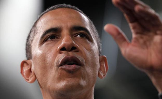 """מסר מארה""""ב, אובמה (צילום: AP)"""
