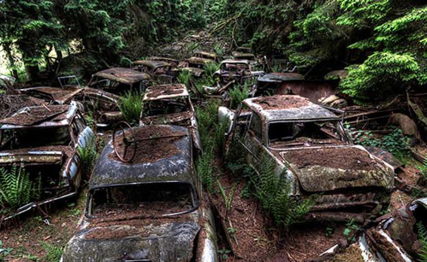 פקק תנועה עתיק (צילום: רוזאן דה לנגה)