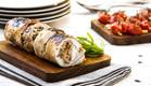 בלוטין עוף של נוף עתאמנה אסמעיל (צילום: אסף אמברם ,אוכל טוב)
