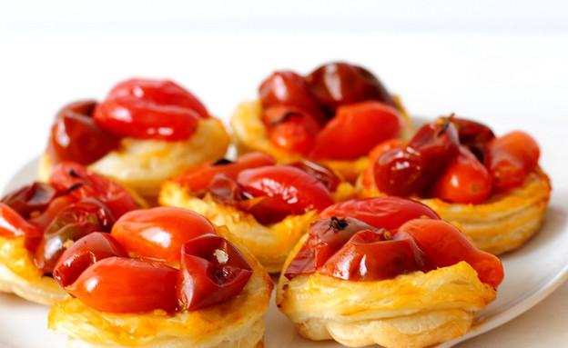 טארט טאטן עגבניות שרי (צילום: שרית נובק ,אוכל טוב)