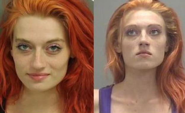 תאומות ג'ינג'יות (צילום: Raleigh Police Department)