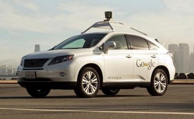מכונית של גוגל ללא נהג