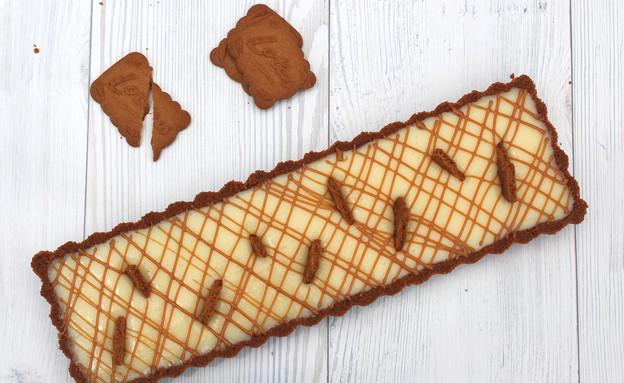טארט שוקולד לבן ולוטוס (צילום: אסתי רותם ידידיה ,אוכל טוב)