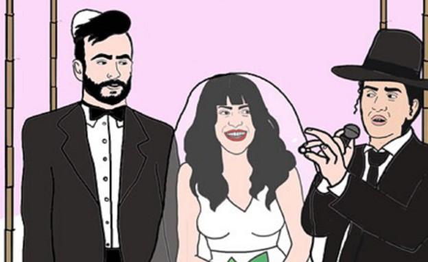 החתונה של נופר ואליאב(mako)