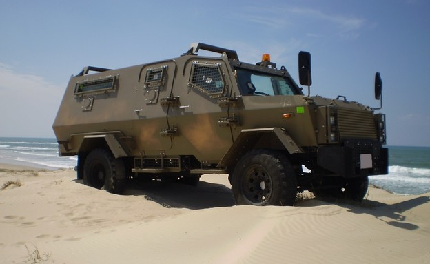 """כלי רכב של צה""""ל  (צילום: יחסי ציבור)"""
