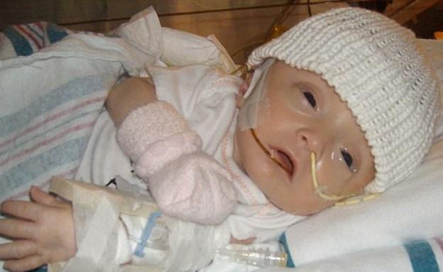 ניצלה בעזרת סמים (צילום: Caters News Agency)