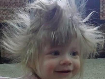 תינוקות עם שיער פרוע (צילום: www.mommyshorts.com)