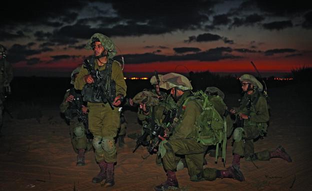 """גדוד גפן בצוק איתן (צילום: דודי אייזנטל ,עיתון """"במחנה"""")"""