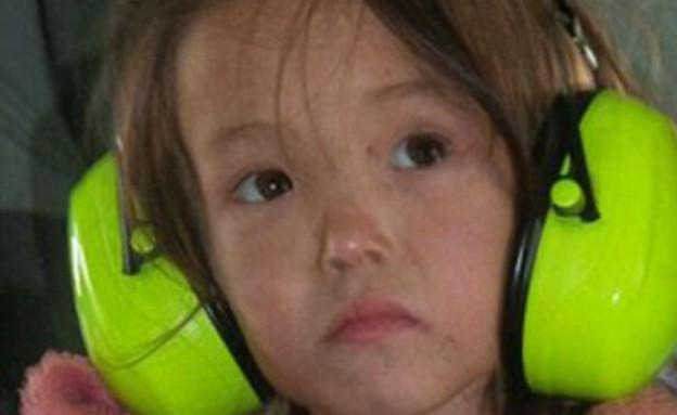 בת 3 שרדה 11 ימים בשמורת טבע (צילום: NTV news)