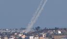 שיגור רקטות מעזה (ארכיון) (צילום: AP)