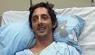 הפצוע בבית החולים, היום (צילום: חדשות 2)