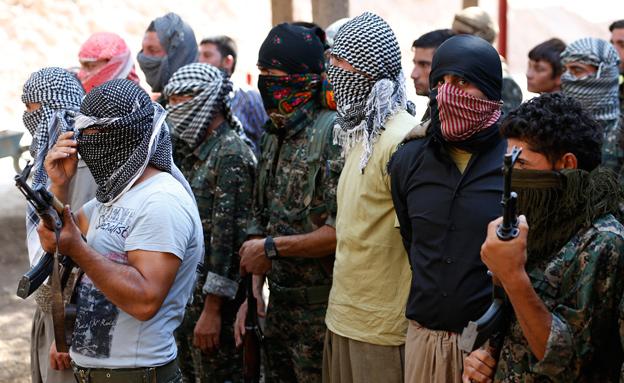 כוחות דאעש מתבצרים