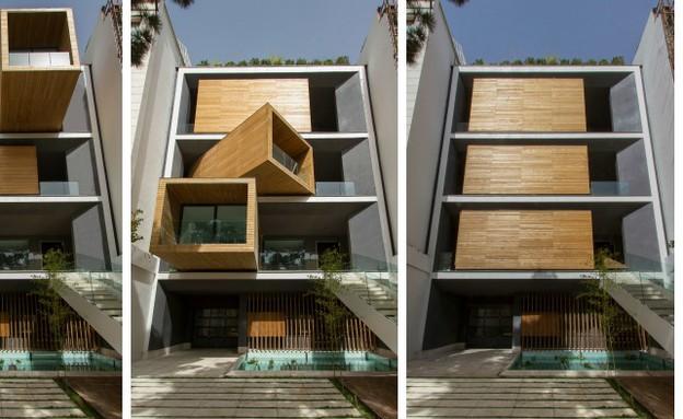 בית בטהרן קולאז (צילום:  Parham Taghioff )