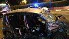 2 נפצעו קשה ובינוני בתאונה בחיפה (צילום: דוברות איחוד הצלה כרמל)