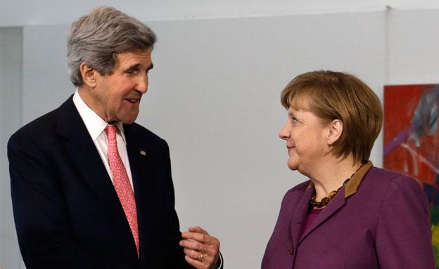 """אירופה וארה""""ב משתפות פעולה נגד רוסיה (צילום: AP)"""