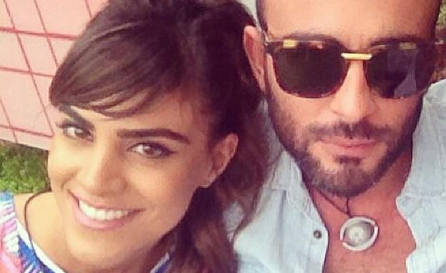 אליאב אוזן ונופר מור (צילום: instagram ,mako)