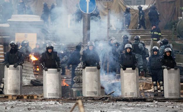 עימותים במזרח אוקראינה, ארכיון (צילום: רויטרס)