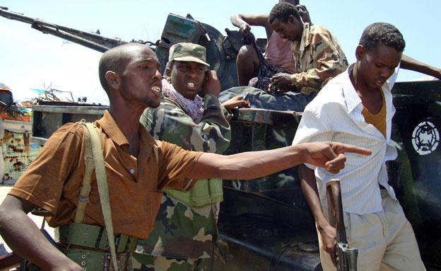 מנהיג הארגון חוסל, אל שבאב (צילום: AP)