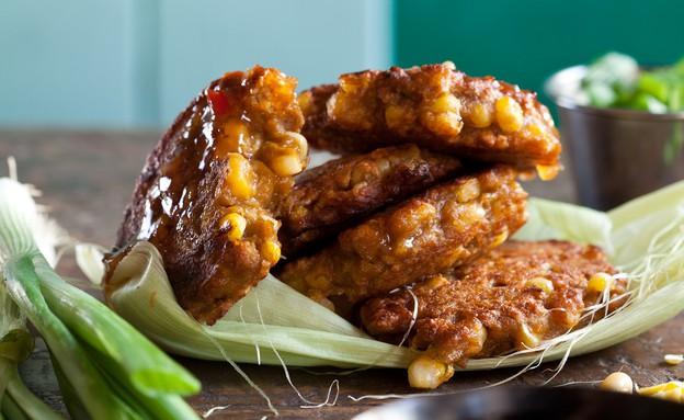 לביבות תירס תאילנדיות (צילום: דניאל לילה ,אוכל טוב)