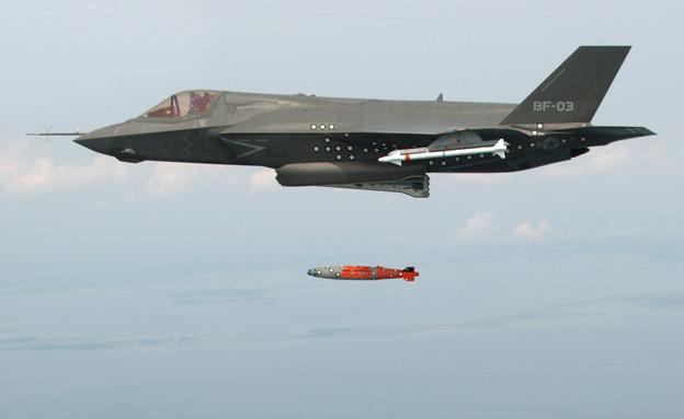 חיל האוויר האמריקני יצא לתקוף. ארכיון (צילום: רויטרס)
