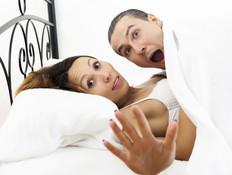 מופתעים במיטה (צילום: thinkstock)