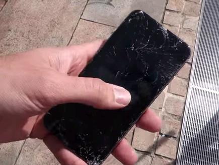 אייפון 6 מבחן שבירה