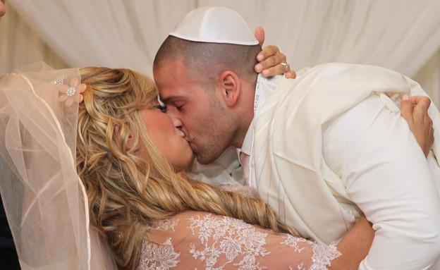 ליהיא גרינר החתונה החופה (צילום: ראובן שניידר  ,mako)