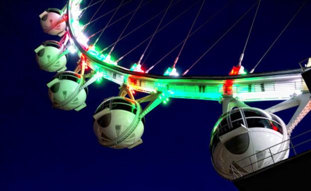 גלגל ענק, וגאס מסיבה 2 (צילום: the High Roller)