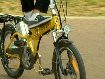 מספר האופניים עולה - וגם הסכנה להולכי הר