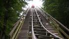 רכבת הרים תאונה (צילום: youtube.com)