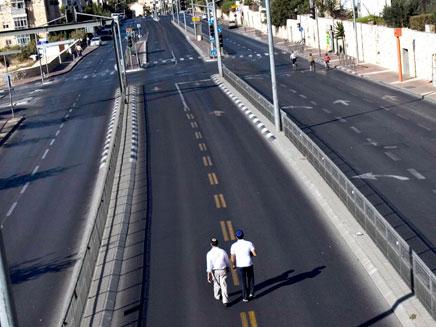 הכבישים יישארו ריקים
