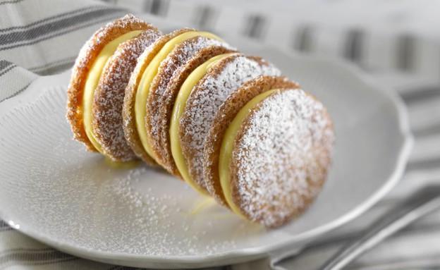 עוגיות קוקוס לימון (צילום: אנטולי מיכאלו ,אוכל טוב)