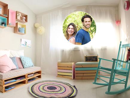 חדר ילדים קולאז (צילום: אנוק רון)