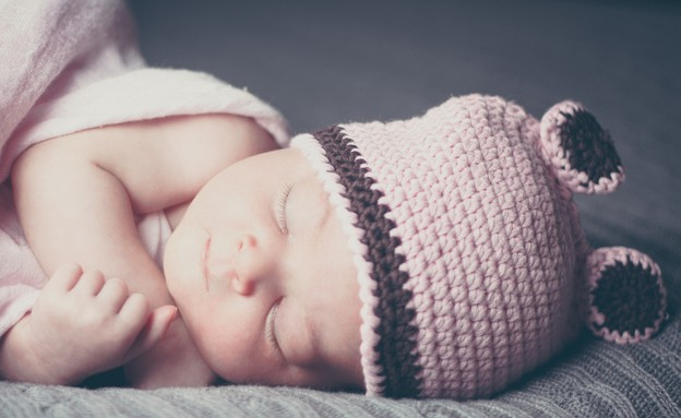 תינוק ישן (צילום: יניב כצנלסון)