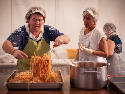 פסטיבל פטוצ'יני פסטה טרייה נשים בשלניות (צילום: חיים יוסף)