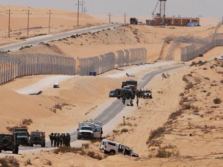 פיגוע בגדר המערכת בגבול ישראל - מצרים