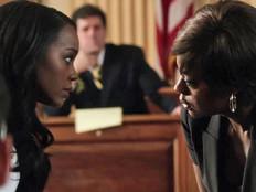 שחורים בטלוויזיה האמריקאית - ויולה דיויס באיך להתחמק מרצח  (צילום: צילום מסך)