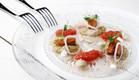 מסעדת אולה, דניאל רחמים, סשימי סביח (צילום: מיטל סולומון ,יחסי ציבור)