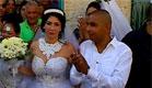 מחמוד ומורל בחתונתם, לפני כחודשיים (צילום: חדשות 2)