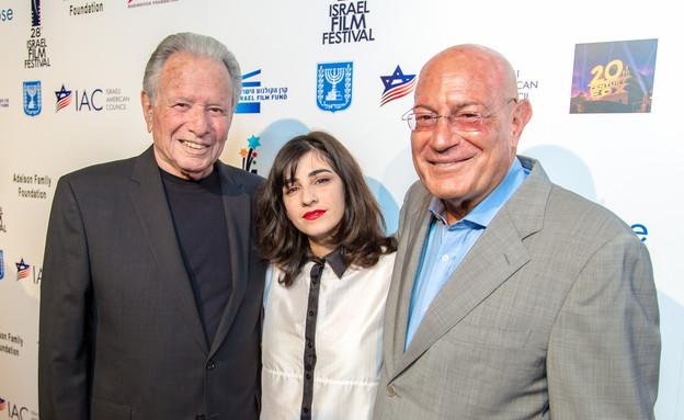 דאנה איבגי בפסטיבל הסרטים הישראלי (צילום: Abraham Joseph Pal)