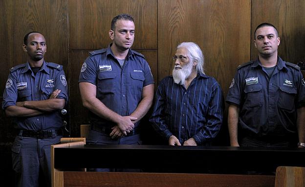 גואל רצון בבית המשפט, לפני חודשיים (צילום: דרור עינב)