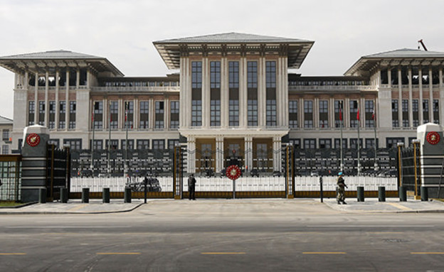 הארמון הלבן של ארדואן (צילום: אימג'בנק/GettyImages ,Getty images)
