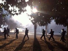 שוטרים בהר הבית. ארכיון (צילום: דוברות חטיבת המשטרה)